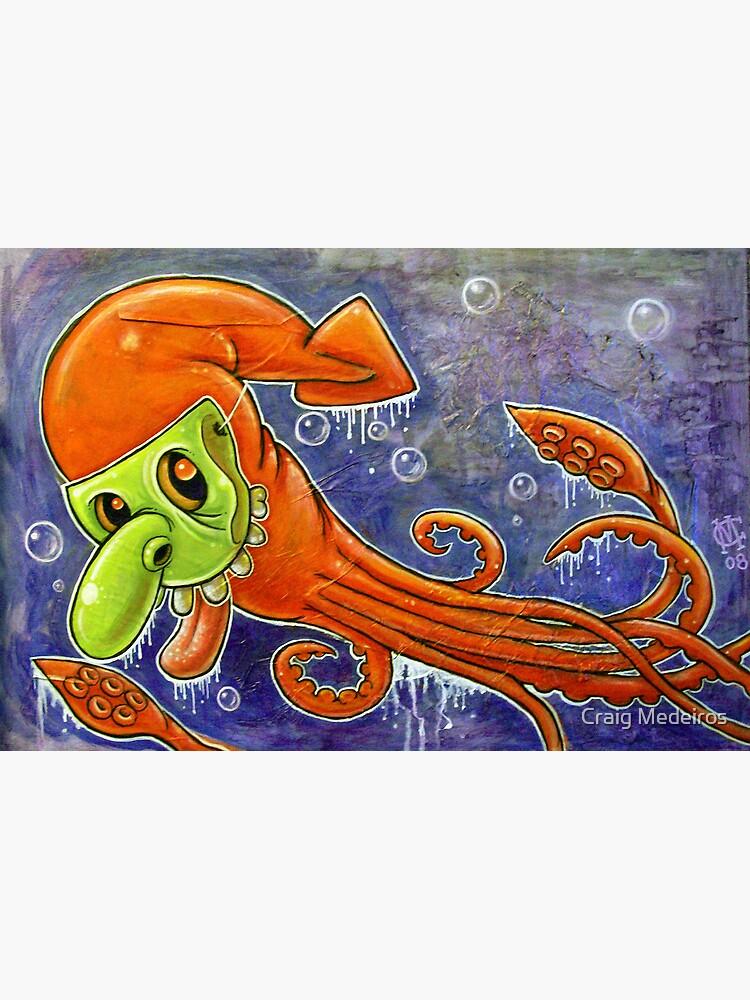Dynamite Squid by mistertengu74