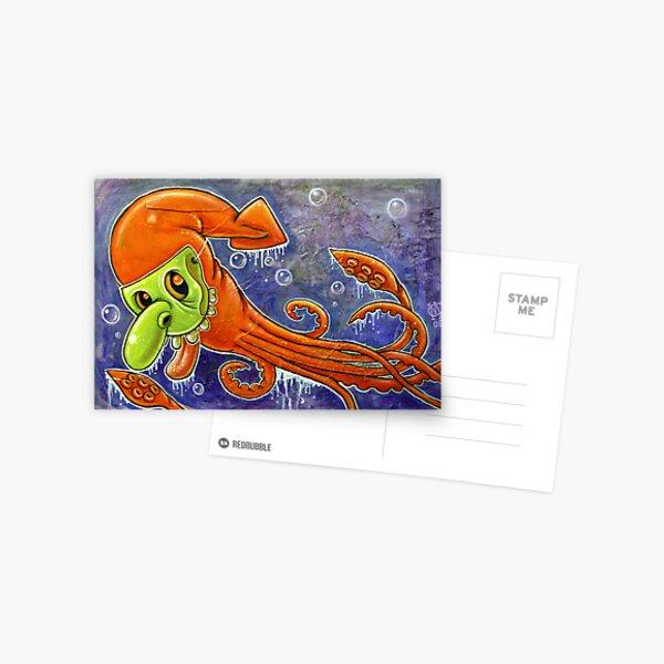 Dynamite Squid Postcard