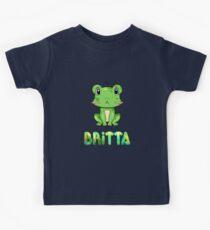 Britta Frog Kids Tee