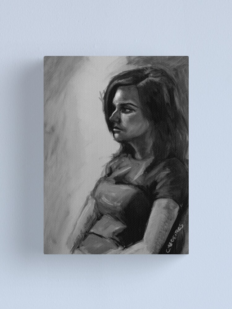 Alternate view of Life painting Canvas Print
