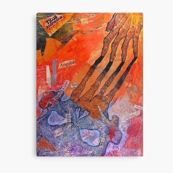 Titus Andronicus poster Metal Print