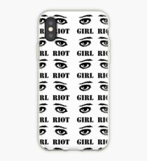 RIOT GIRL iPhone Case