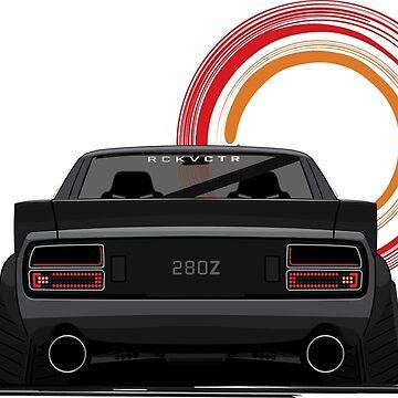 Nissan/Datsun 280Z S30 Fairlady Z Illustration by madebyluddy