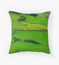 Pastures Throw Pillow