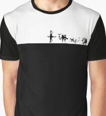 Camiseta gráfica Aliento de lo salvaje: bestias divinas cargando la pantalla pequeño negro