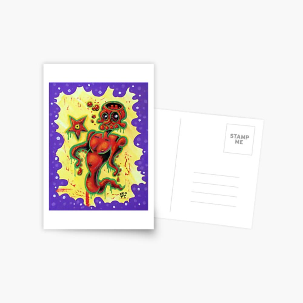 Skullopod Postcard