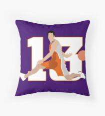 Steve Nash Phoenix Suns Throw Pillow
