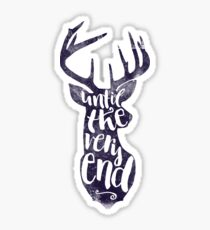 Until The Very End Sticker