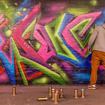 Working London's Graffiti Tunnel by KristofferGlenn