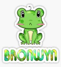 Bronwyn Frog Sticker