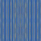 Gray and Cobalt Blue Stripes Pattern  by clipsocallipso