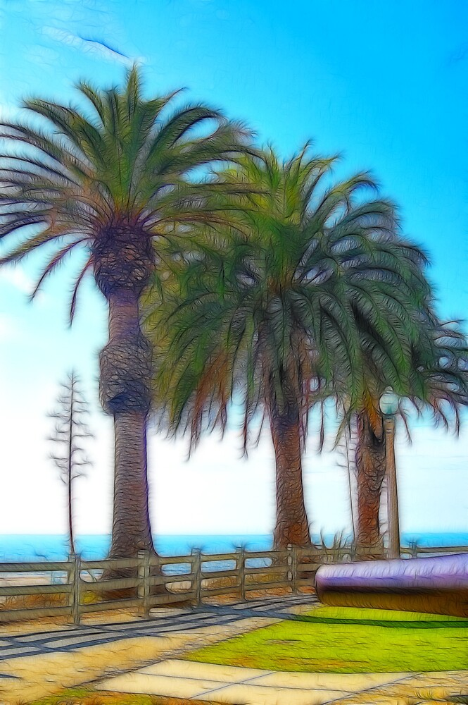 Fractalius Palms by Jawaher