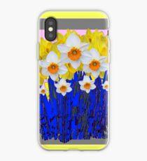 SPRING DAFFODILS  GARDEN ART iPhone Case