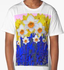 SPRING DAFFODILS  GARDEN ART Long T-Shirt