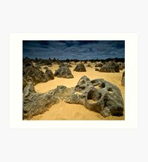 The Pinnacles II Art Print