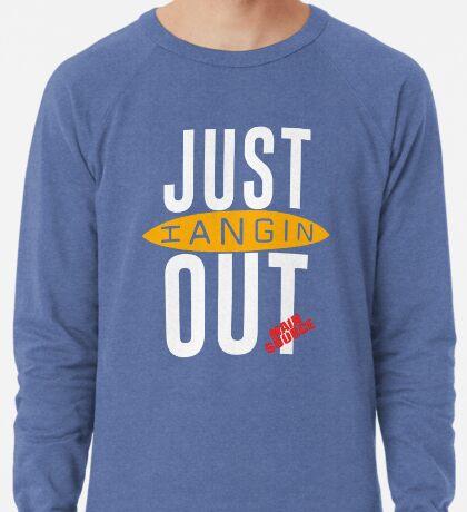 Just Hangin Out 93 Main Source 1991 Replica Lightweight Sweatshirt
