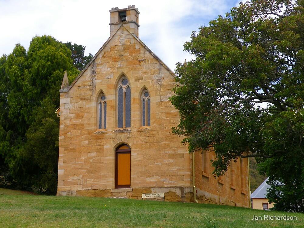 St Bernards Catholic Church at Hartley, NSW by Jan Richardson