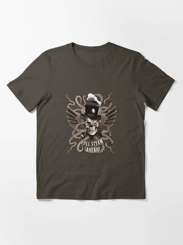 Alternate view of Full Steam Ahead!  Essential T-Shirt