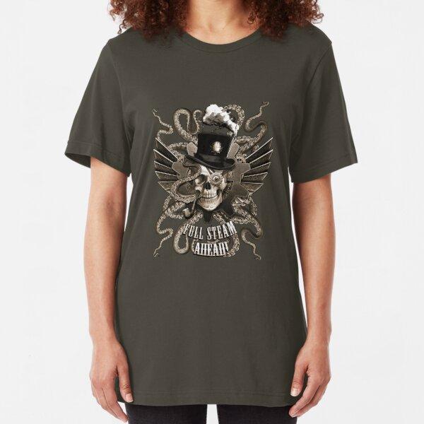 Full Steam Ahead!  Slim Fit T-Shirt