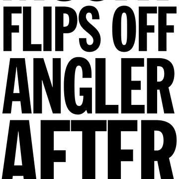Musky Flips Off Angler by gstrehlow2011