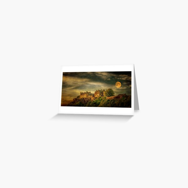 Stirling Castle By Moonlight Greeting Card