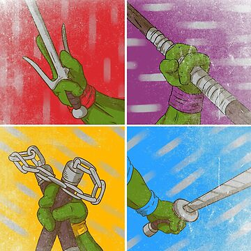 Ninja weapons by LgndryPhoenix