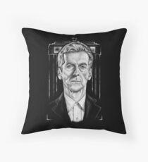 The 12th (Dark Variant) Throw Pillow