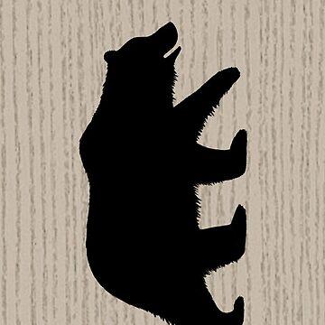 Grizzlybär-Silhouette (n) von ShortCoffee