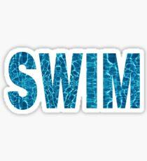 Swim Sticker