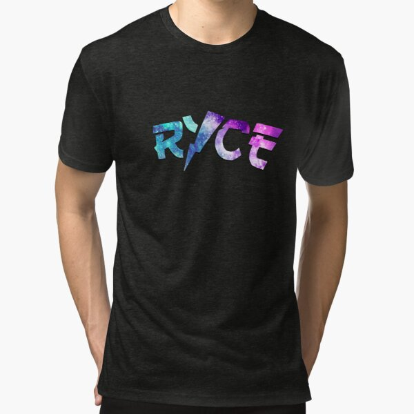 ricegum galaxy Tri-blend T-Shirt
