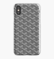 Gray Goyard iPhone Case/Skin