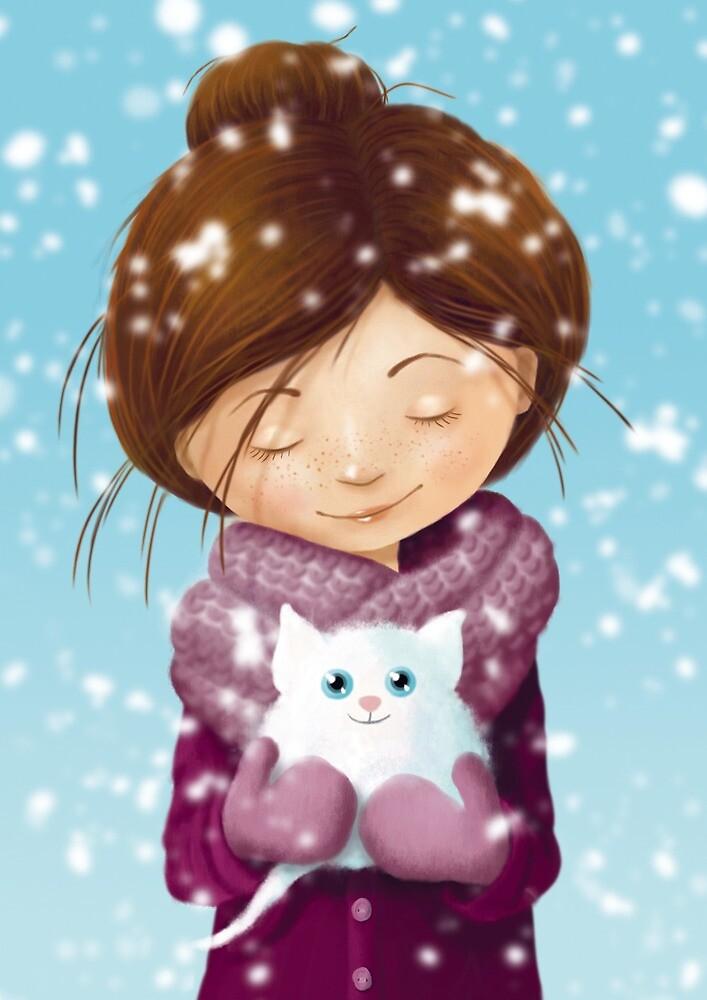 snowball by Birgit Gaude
