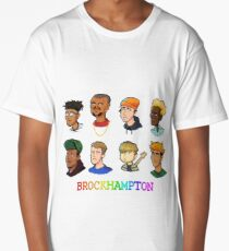 Pixel BROCKHAMPTON Long T-Shirt