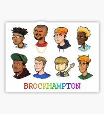 Pixel BROCKHAMPTON Sticker