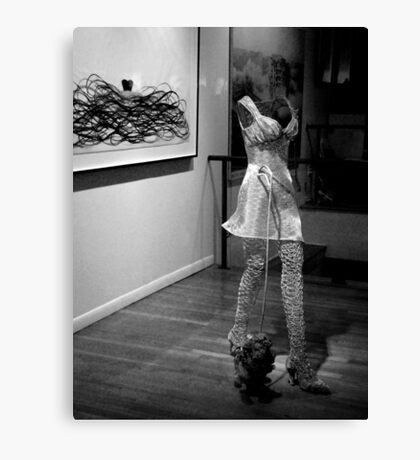 The Invisible Girl Canvas Print