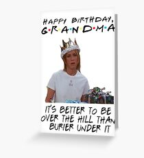 Ross greeting cards redbubble friends tv birthday card greeting card bookmarktalkfo Images