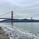 Golden Gate Bridge With Marin Headlands by Lynda Anne Williams