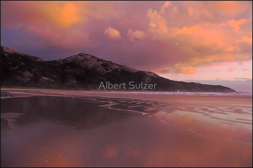 Norman Bay Sunset- Wilson's Prom.Nat.Park by Albert Sulzer
