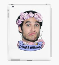 Darren Criss Dumb Human iPad Case/Skin