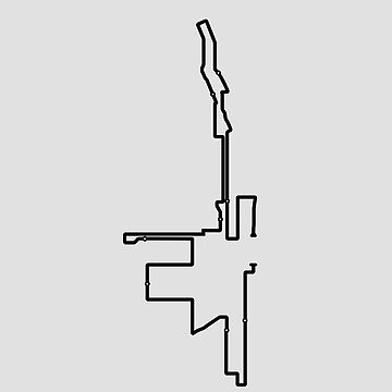 Chicago Minimalist Marathon Map (with elevation profile) by MishiInk