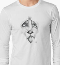Sad Eyes Puppy Long Sleeve T-Shirt