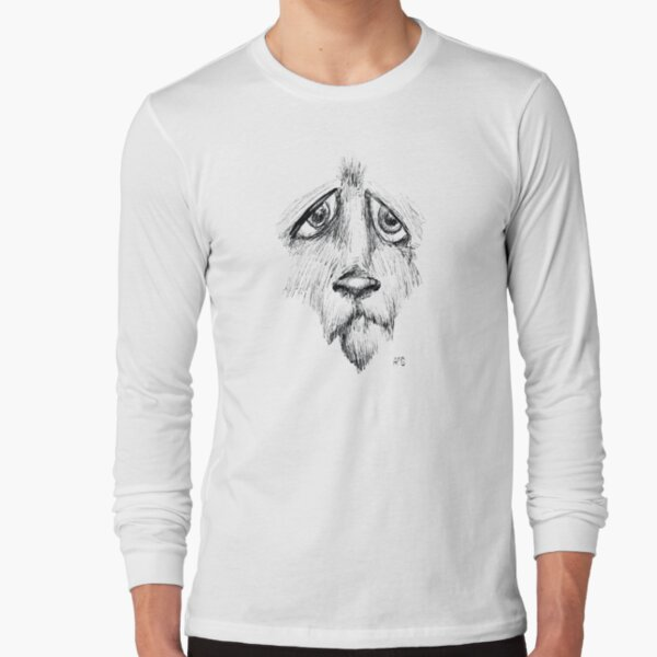 Sad Eyes Puppy Long Sleeve T-Shirt