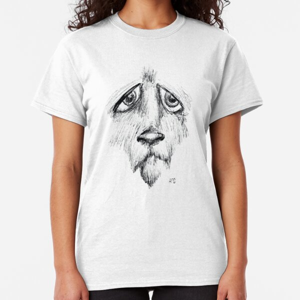 Sad Eyes Puppy Classic T-Shirt