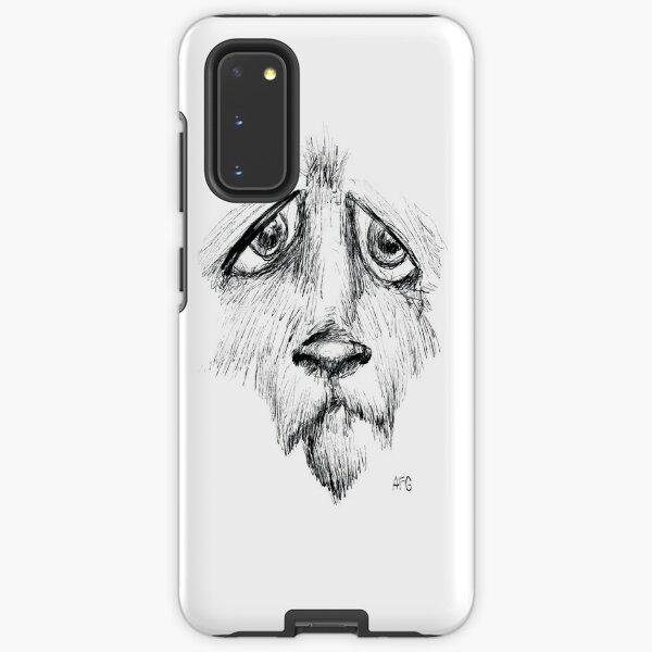 Sad Eyes Puppy Samsung Galaxy Tough Case