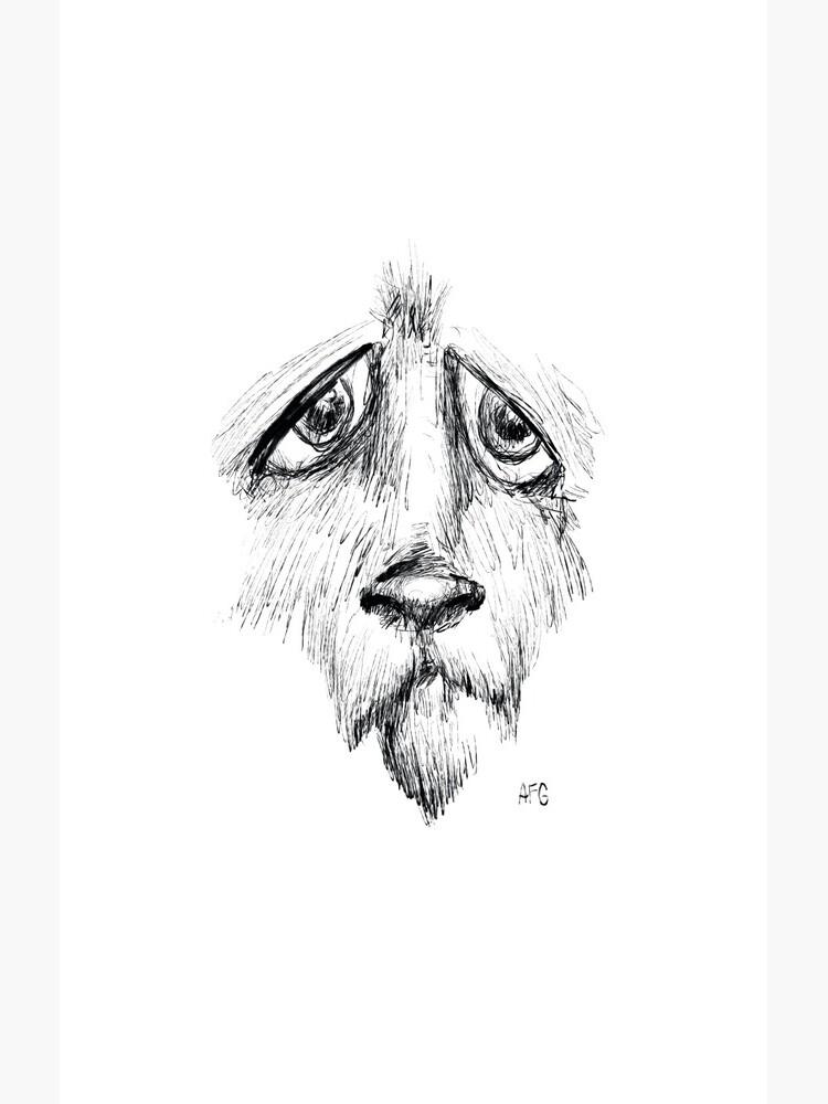 Sad Eyes Puppy by aaronfg