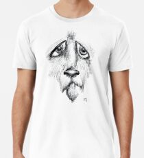 Sad Eyes Puppy Men's Premium T-Shirt
