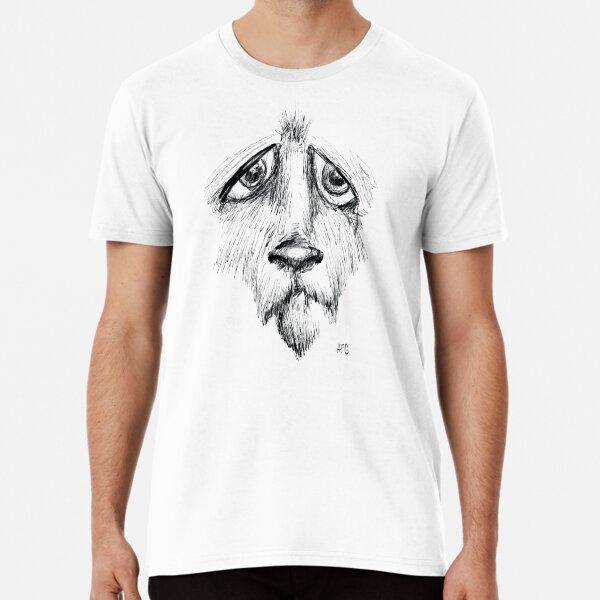 Sad Eyes Puppy Premium T-Shirt