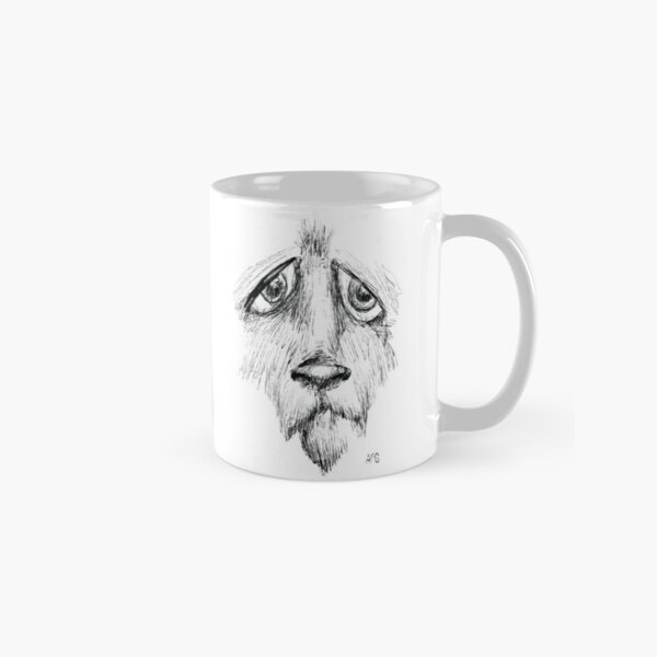 Sad Eyes Puppy Classic Mug