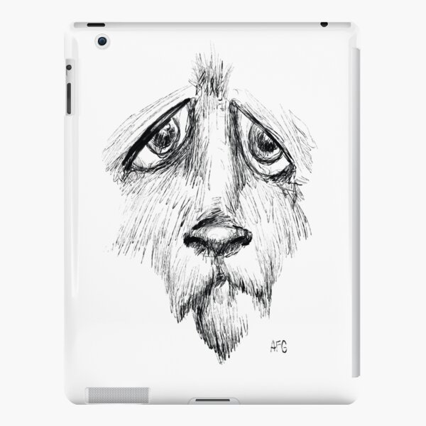 Sad Eyes Puppy iPad Snap Case
