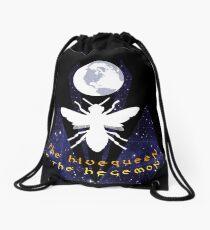 A Hive Queen Drawstring Bag